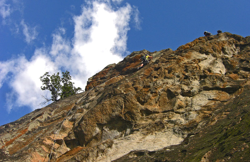 Klettersteig Hoachwool : Hoachwool klettersteig meraner land vivosüdtirol