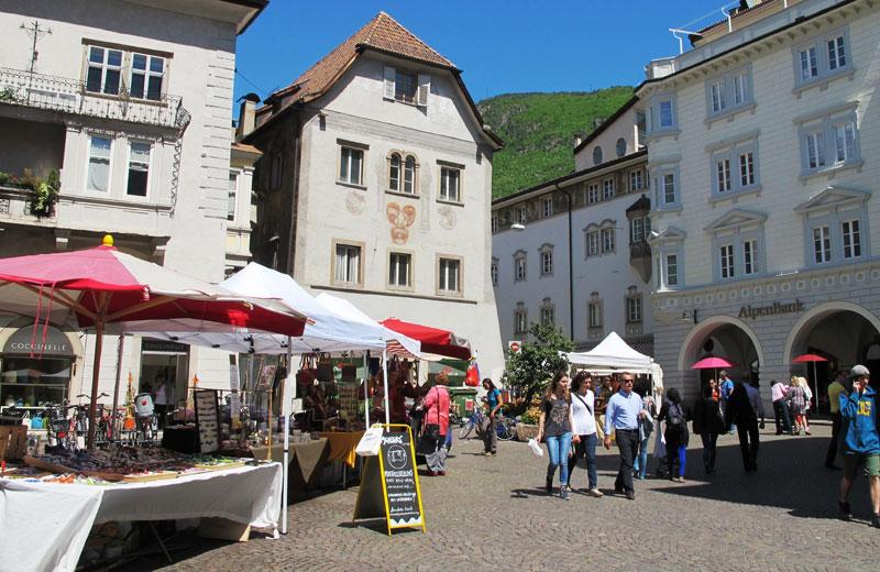 mercatino dellartigianato piazza municipio bolzano weather - photo#3