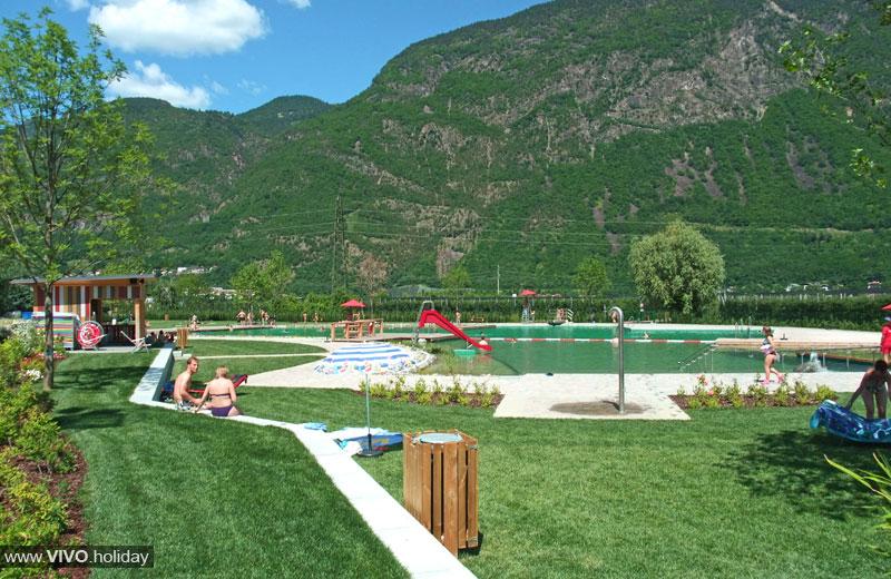 Laghetti balneabili in alto adige vivoaltoadige - Hotel corvara con piscina ...