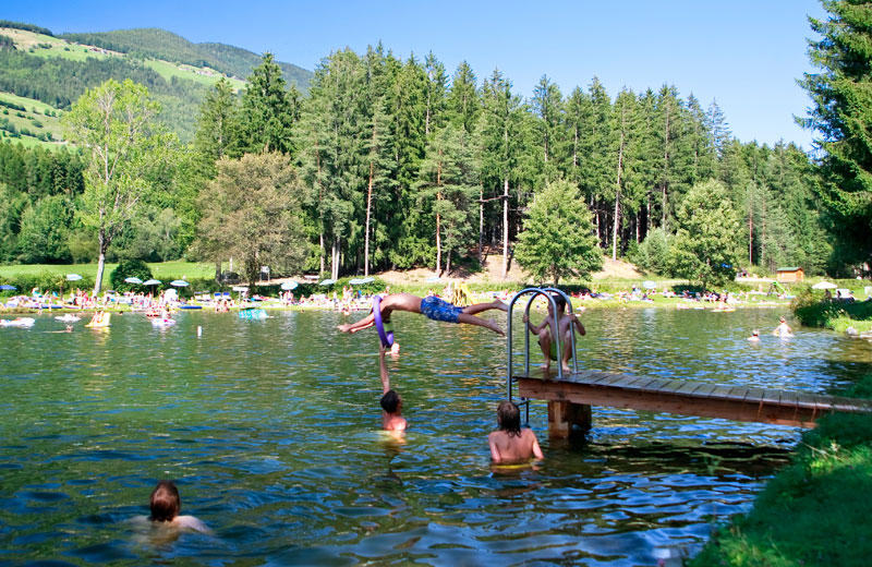 Laghetto balneabile naturale di issengo plan de corones for Laghetto balneabile progetto