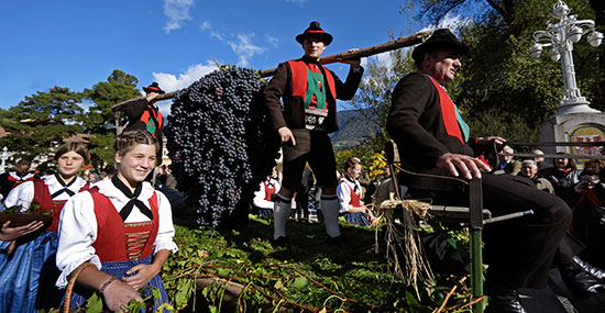 Herbstevents in Südtirol
